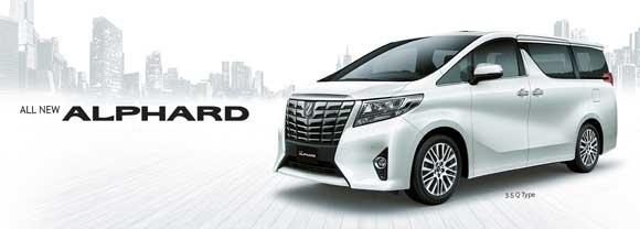Toyota Alphard 2018 Yogyakarta